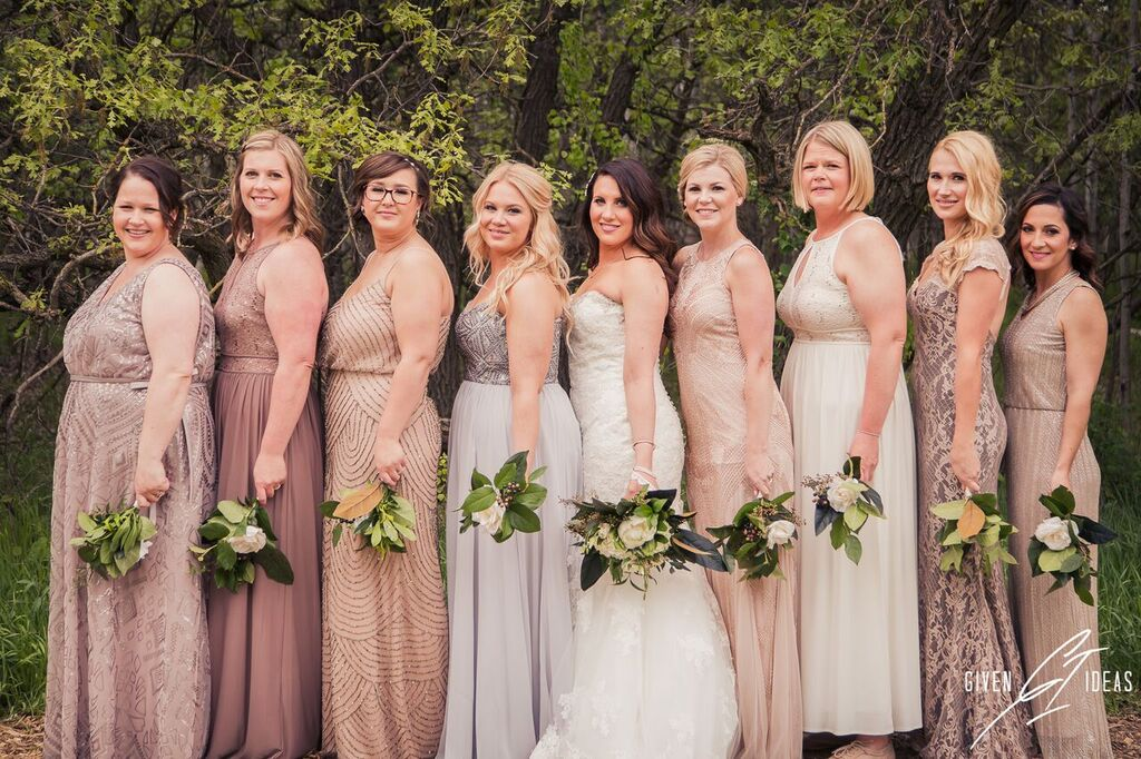 Lauren & Bridal Party - Makeup by Harold & Other