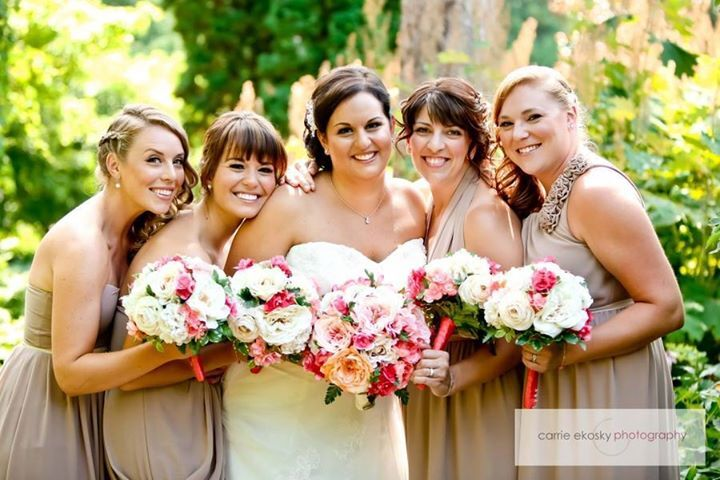 Meagan & Bridal Party - Makeup by Kelly