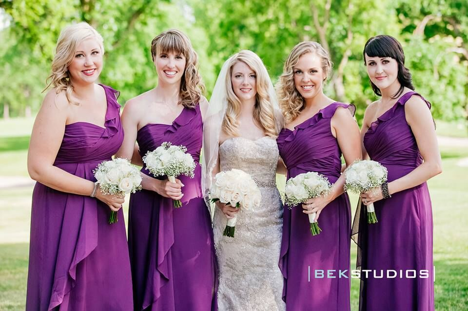 Kristy's Bridal Party - Hair by Chelsea