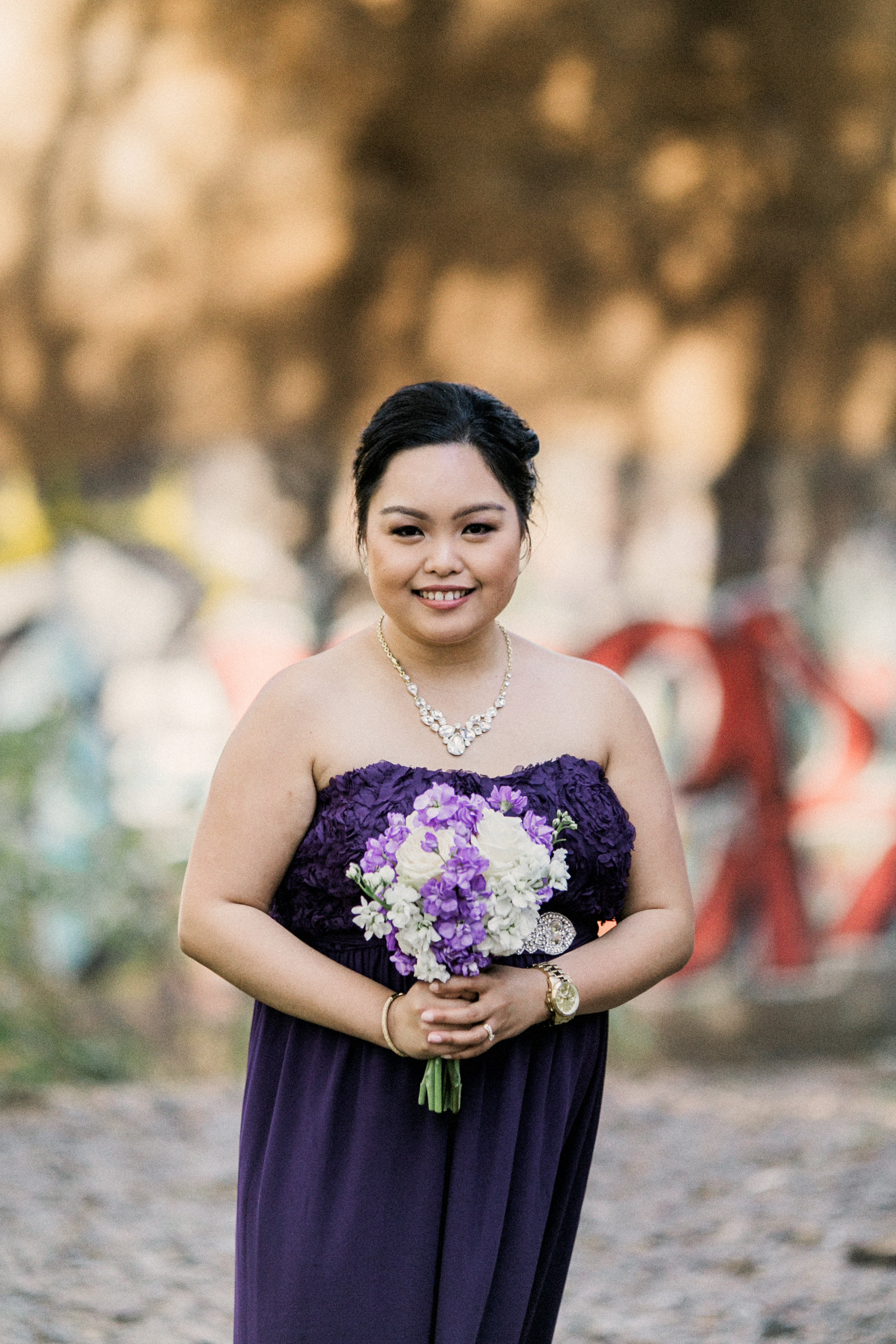 Bridesmaid - Hair by Carmine / Image by BLF Studios